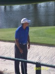 Tiger Woods Masters 2012 Practice Rounds
